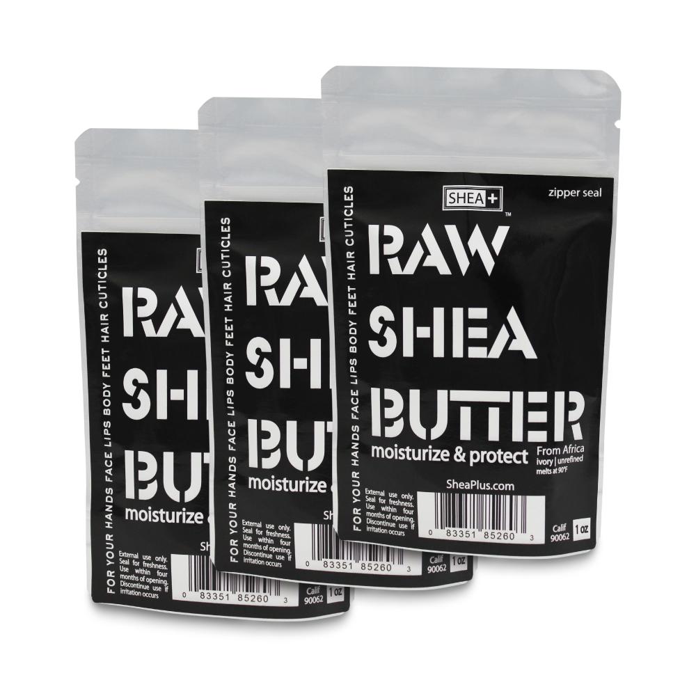 1 oz Shea plus pouches